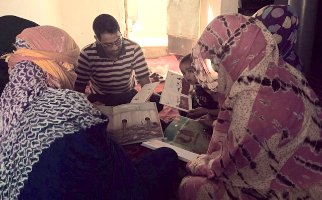 Lectura desde la jaima