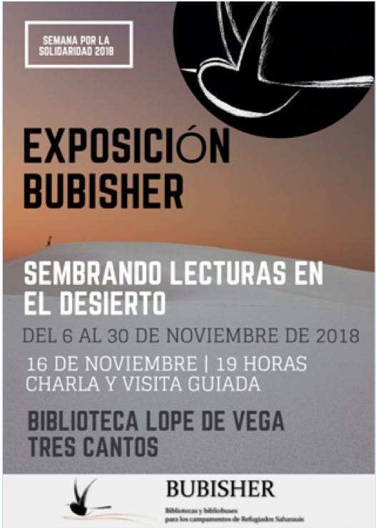 EXPOSICIÓN BUBISHER EN TRES CANTOS (MADRID)