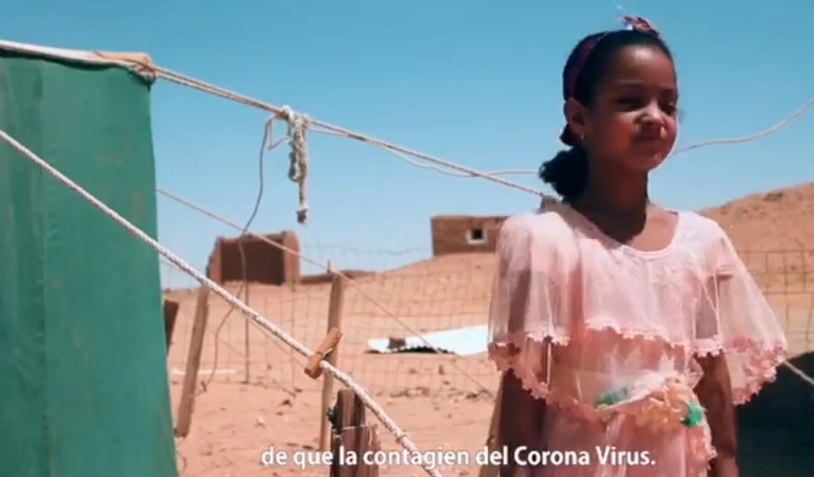 CINEASTAS SAHARAUIS EN LA LUCHA CONTRA EL COVID 19