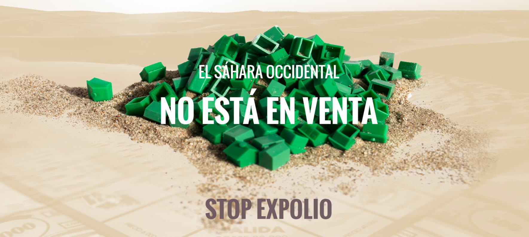 CAMPAÑA INTERNACIONAL DE DENUNCIA DEL EXPOLIO DE RECURSOS NATURALES EN EL SÁHARA OCCIDENTAL
