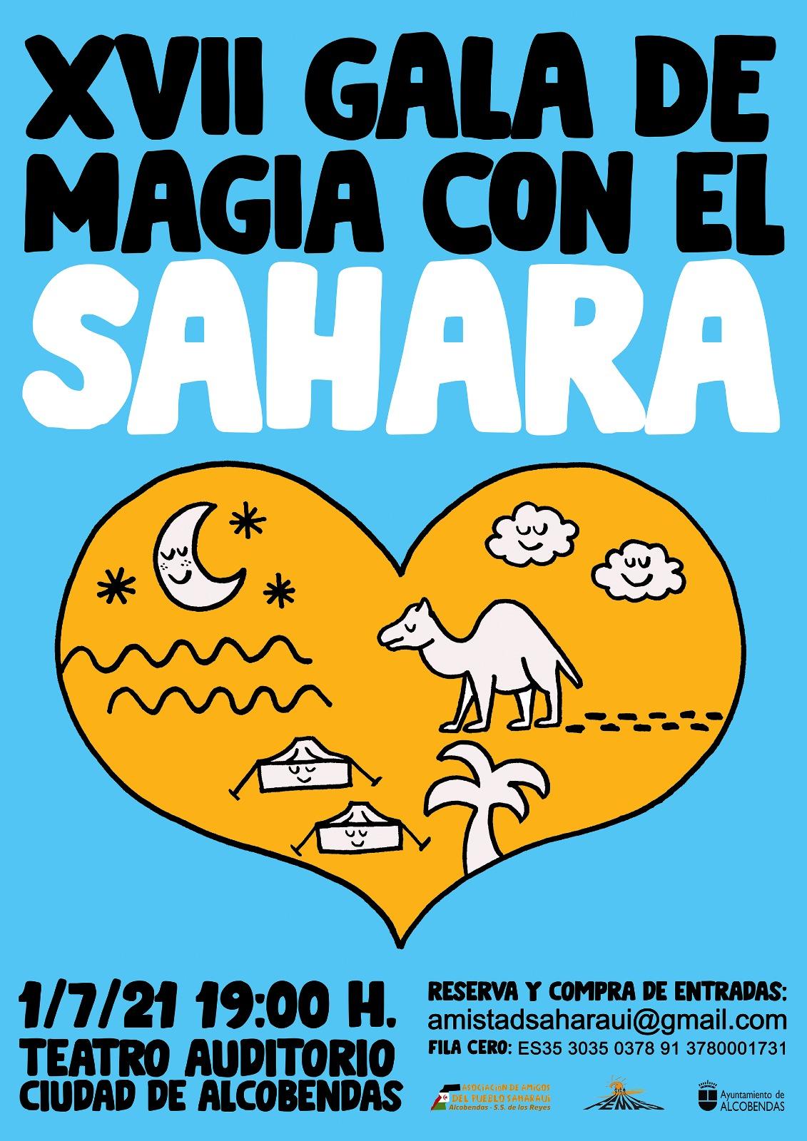 17ª GALA DE MAGIA CON EL SAHARA